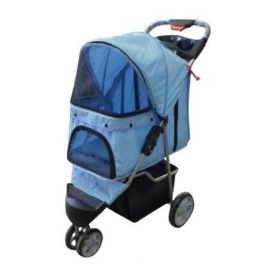topmast-hondenbuggy-all-terrain-big-wheels-blauw-met-stippen