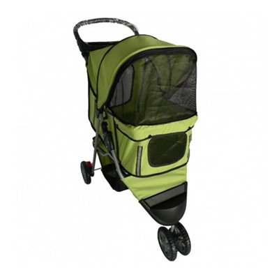 topmast-hondenbuggy-all-terrain-big-wheels-groen