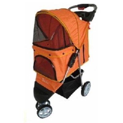topmast-hondenbuggy-all-terrain-big-wheels-oranje
