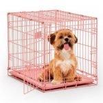 Topmast Hondenbench Roze